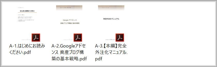 フルオートメーションアドセンスパッケージの本編